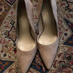 BCBG Generation high heel suede shoes offer accept